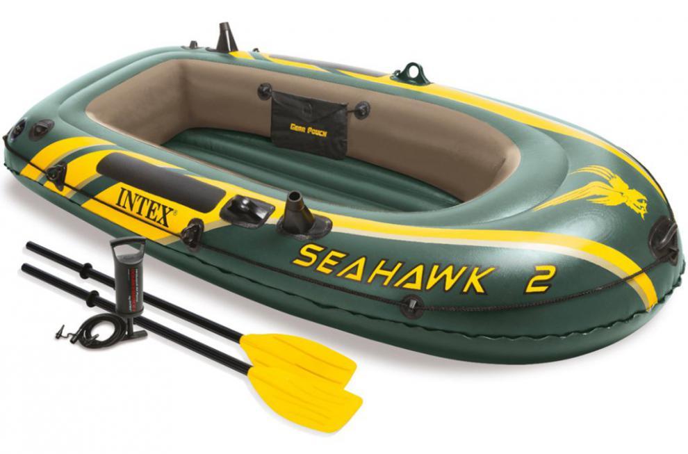 Nafukovací člun Intex 68347 Seahawk 2 set