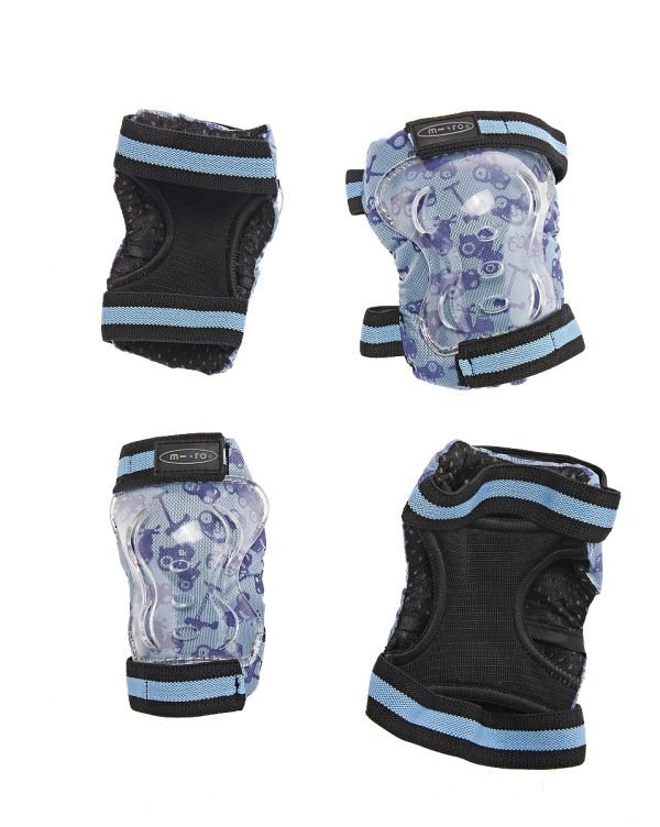 Chrániče kolen a loktů Micro - M modré