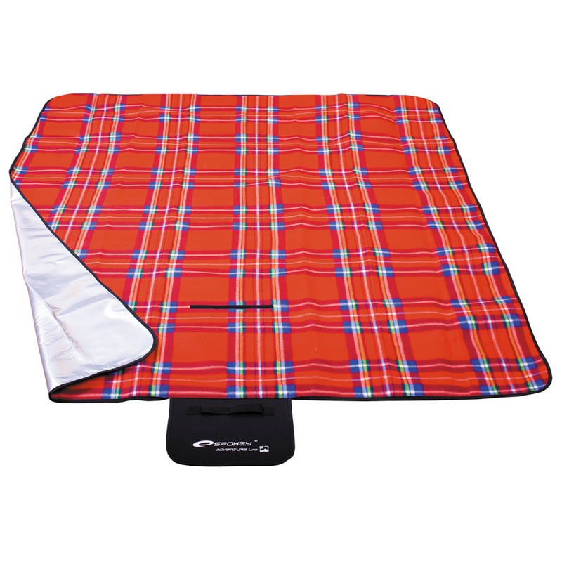Pikniková deka Spokey Picnic Tartan 150x180 cm