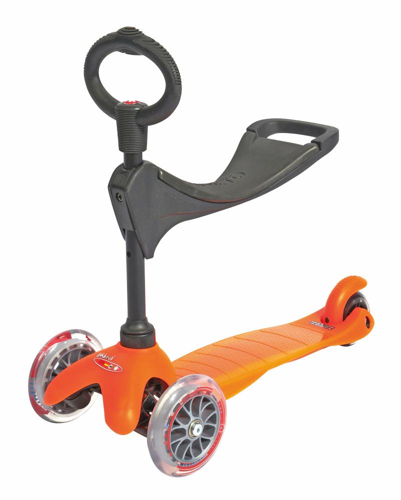 Mini Micro 3v1 oranžová (orange)