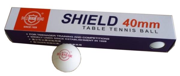Míčky na stolní tenis Richmoral Shield bezešvé 40mm