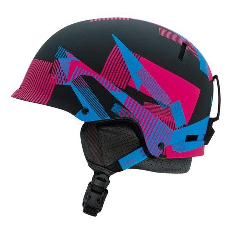 Lyžařská a snowboardová helma Giro Revolver mat black static