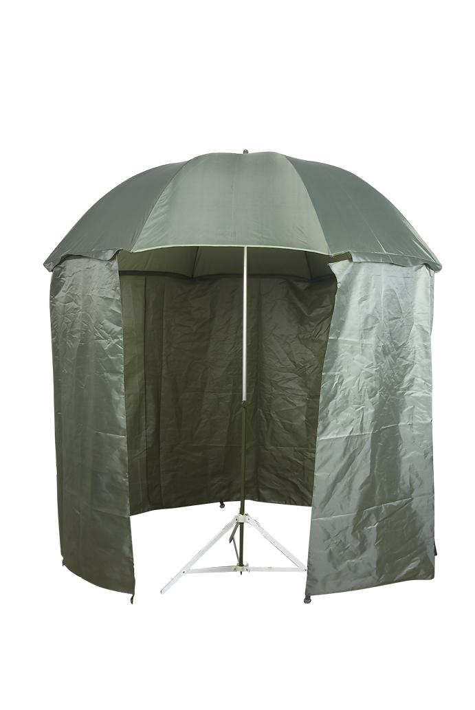 Deštník rybářský s bočnicemi 220 cm