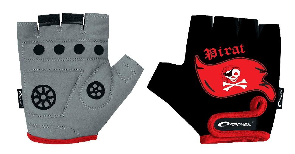 Dětské cyklistické rukavice Spokey Pirate Glove