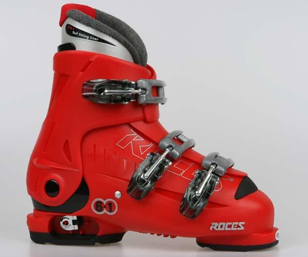 Sjezdová obuv Roces IDEA - červené