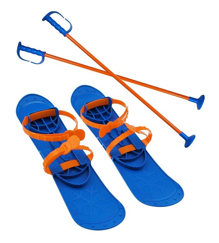 Lyže dětské Sulov Big Foot - světle modré 42 cm 9acd7e11d75