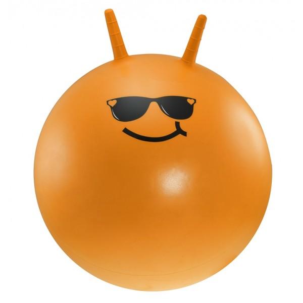 Dětský skákací míč Lifefit Jumping Ball 55cm oranžový