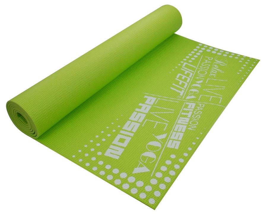 Podložka Lifefit Slimfit zelená 4mm