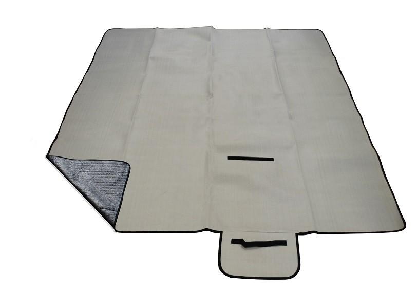 Pikniková deka CALTER GRADY šedá 200x150cm