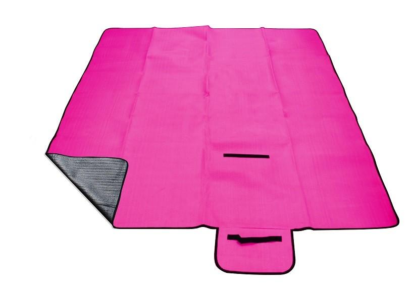 Pikniková deka CALTER GRADY růžová 200x150cm