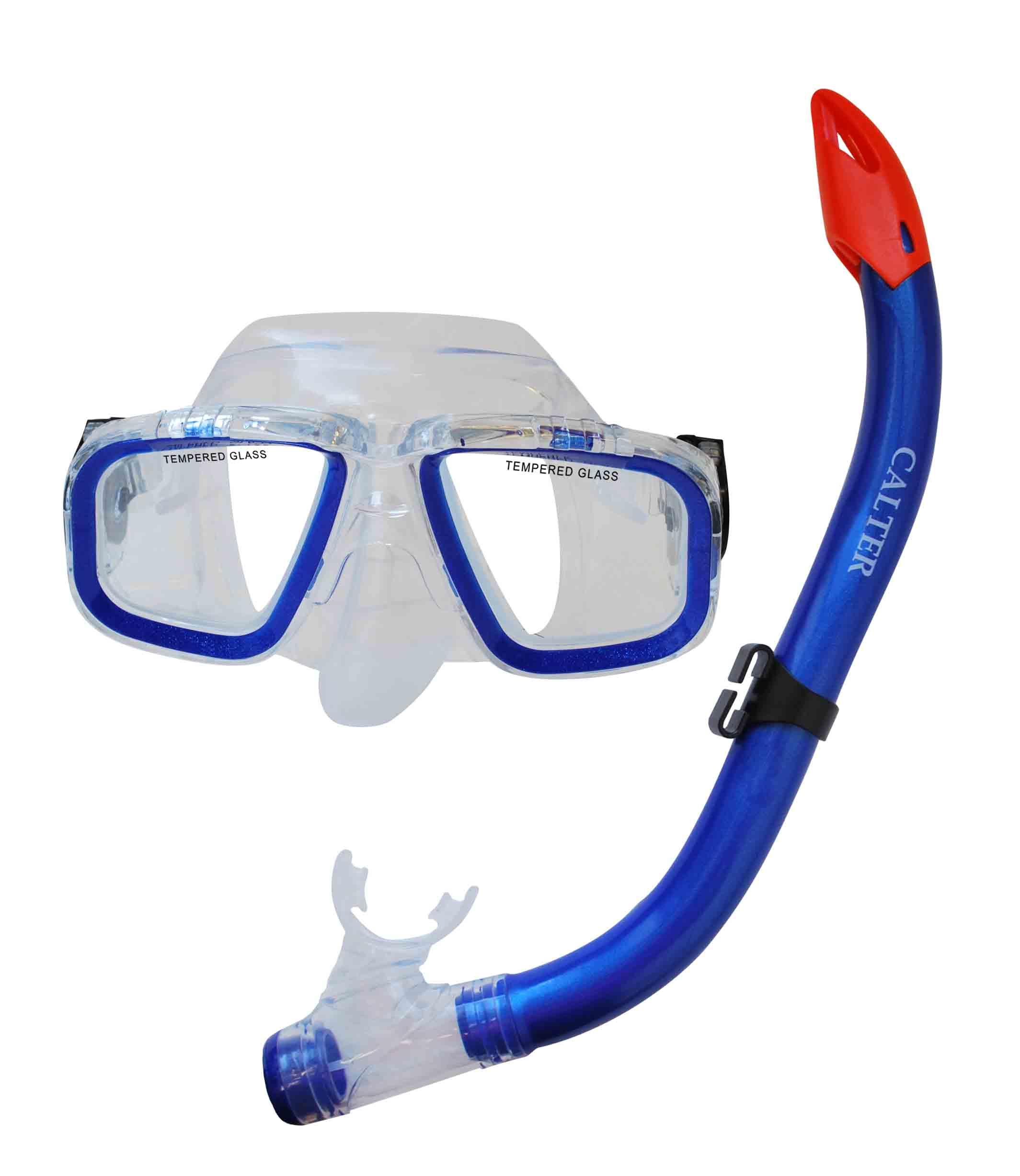 Potápěčský set Calter Junior S9301+M229 P+S modrý
