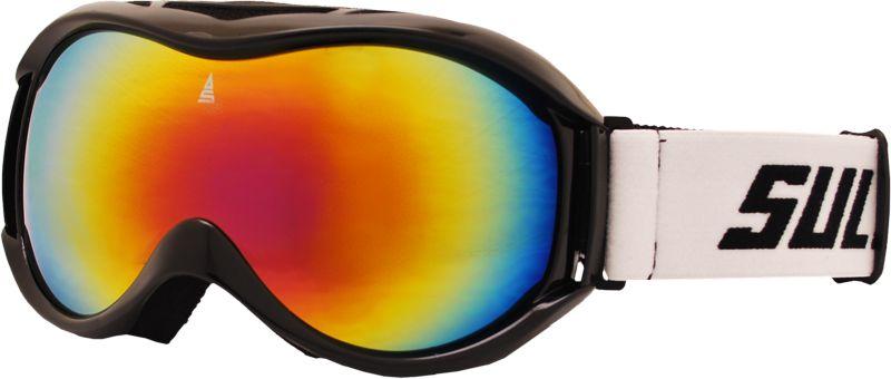 Lyžařské brýle Sulov Free dvojsklo černé