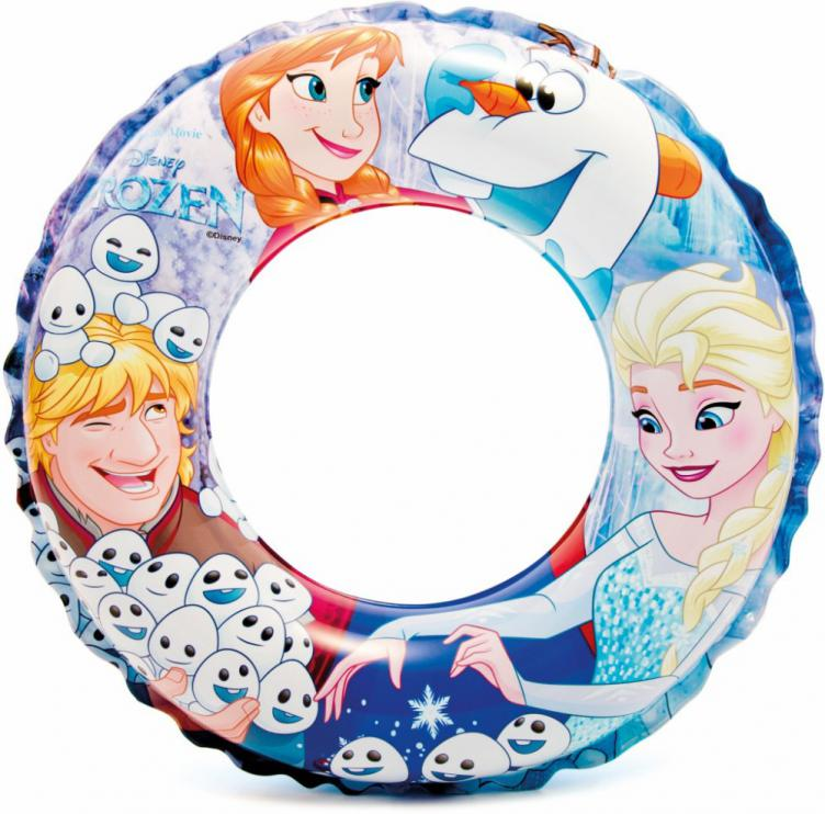 Plavecký kruh Intex 56201 Frozen Deluxe 51cm