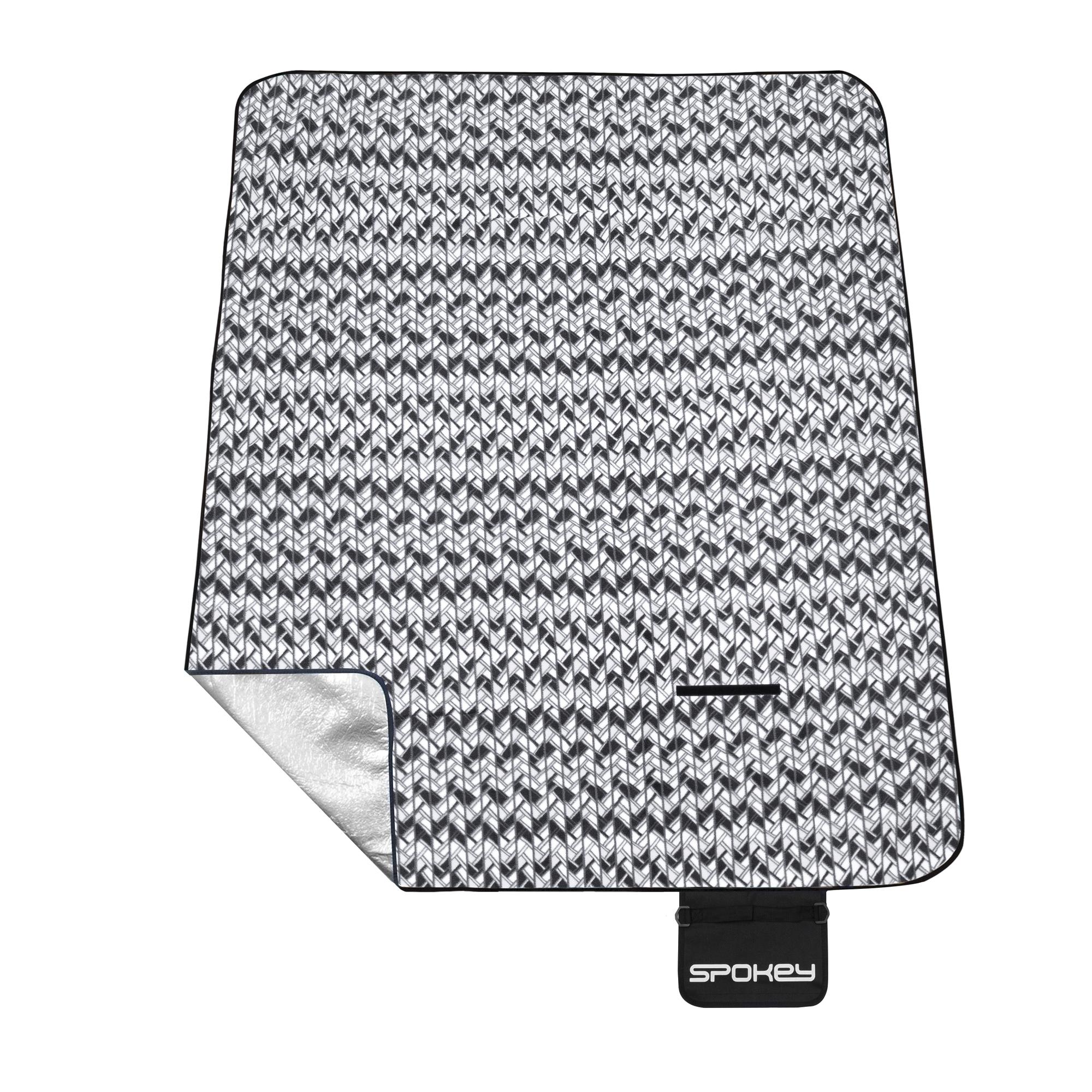 Pikniková deka s popruhem Spokey Etno 180x210cm