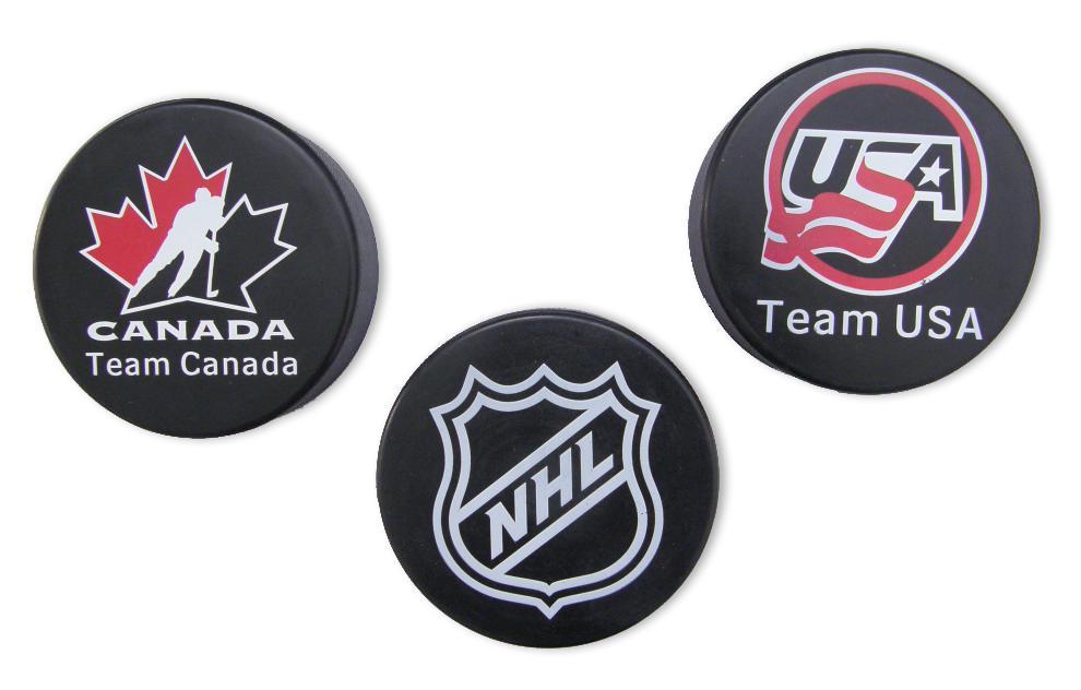 Hokejový puk Official s potiskem
