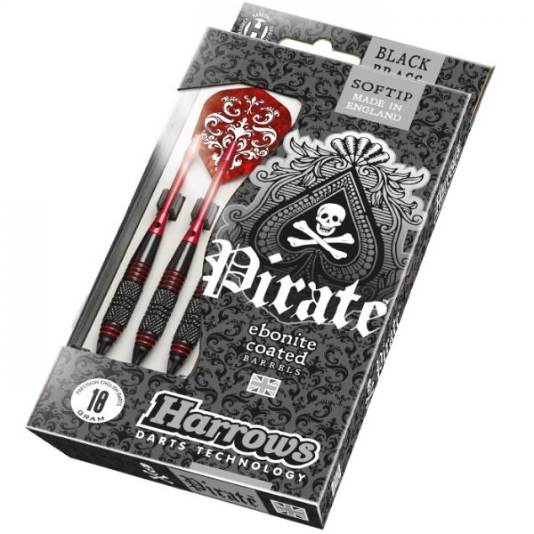 Šipky Harrows Pirate Red 16, 18g K