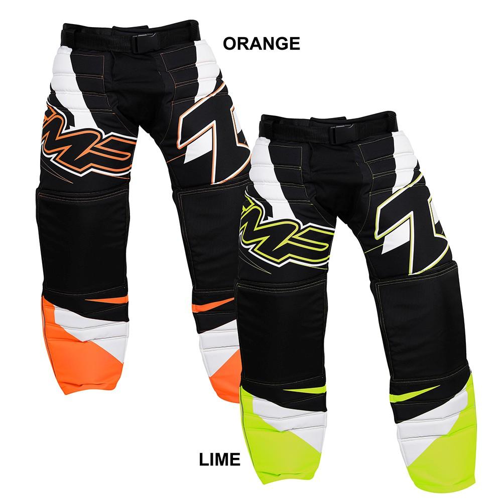 Brankářské florbalové kalhoty Respect senior - XXL, orang