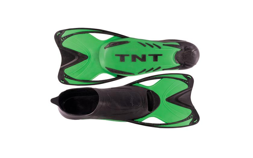 Ploutve plavecké Sedco TNT Short zelené vel. 33-46