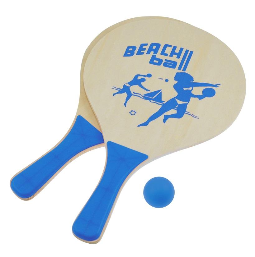 Plážový tenis set modrý