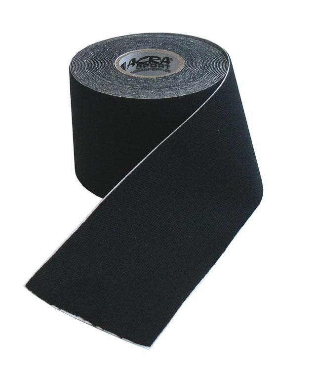 Kinezio tape Acra 5cm x 5m černý