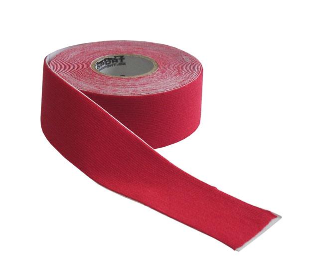 Kinezio tape Acra 2,5cm x 5m červený