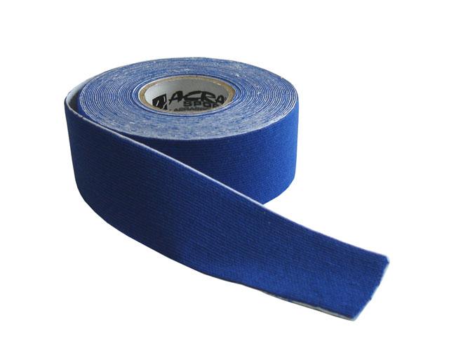 Kinezio tape Acra 2,5cm x 5m modrý