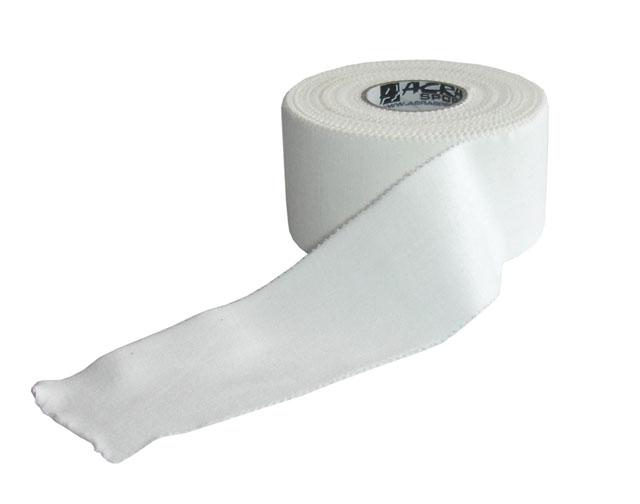 Pevný tape Acra 3,8cm x 13,7m bílý