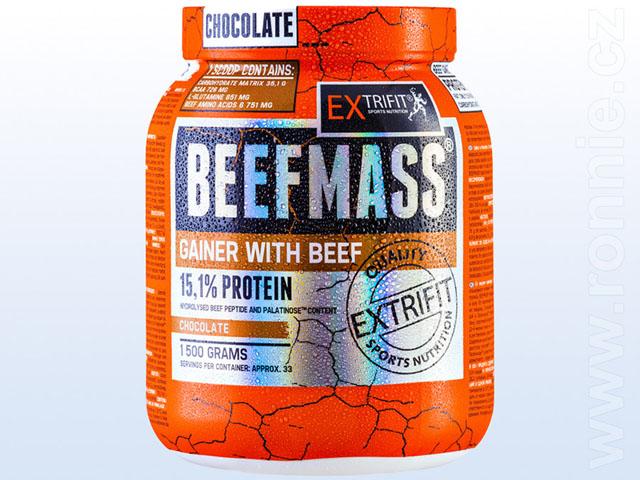 Proteinový izolát Extrifit BeefMass 1500g chocolate