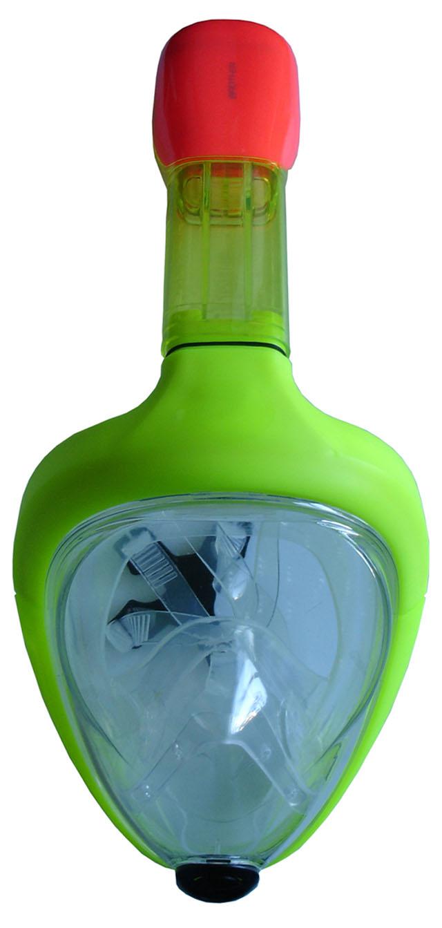 Celoobličejová potápěčská maska Acra P1501 junior - žlutá