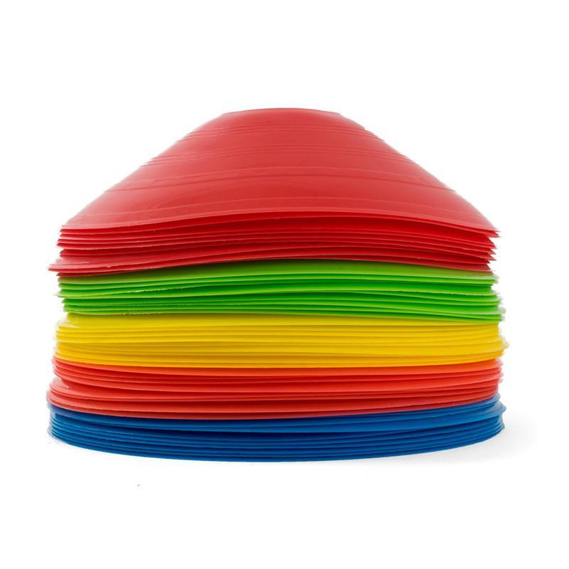 Kužely kopaná - nízké SET 50ks Sedco mix barev