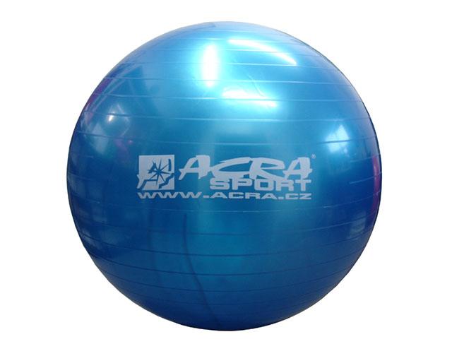 Gymnastický míč Acra S3215 65cm modrý