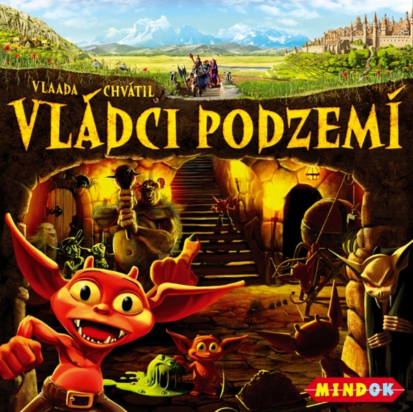 Desková hra Vládci podzemí
