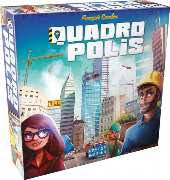 Společenská hra Blackfire Quadropolis