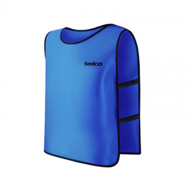 Rozlišovací dres-vesta Sedco Uni modrá