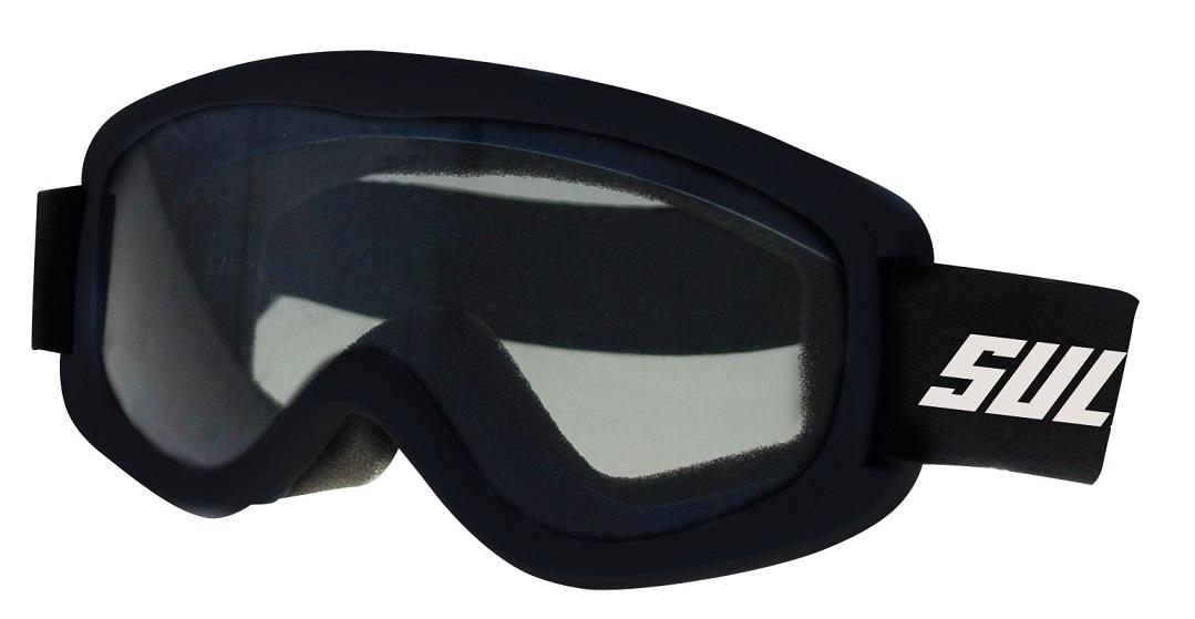 Dětské lyžařské brýle Sulov Child černé