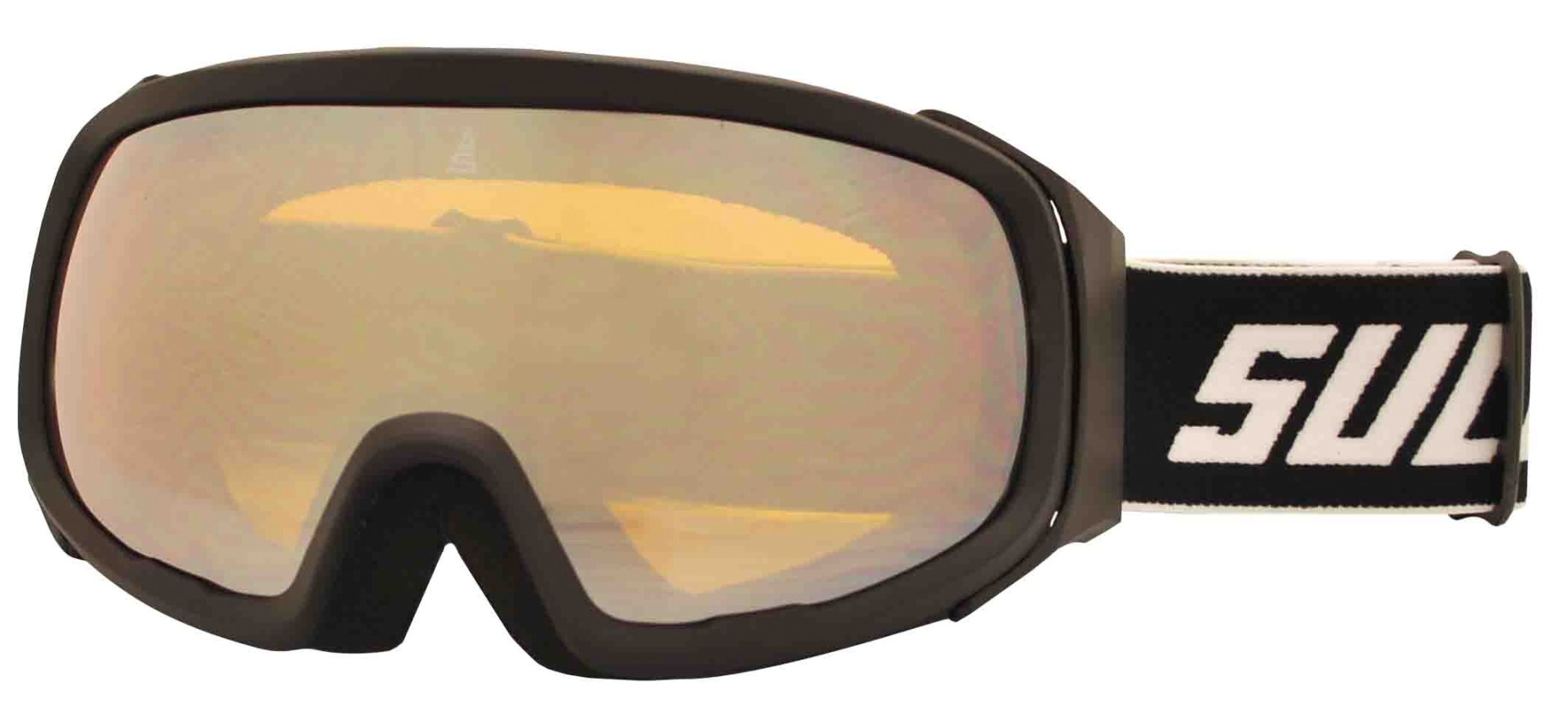 Lyžařské brýle Sulov Pro dvojsklo revo černé