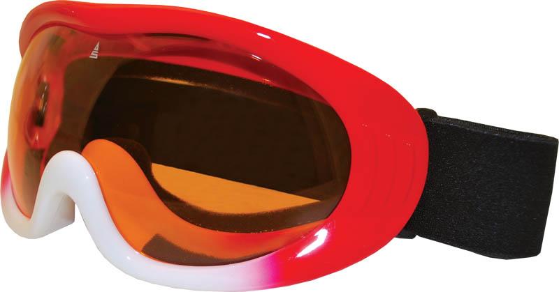 Lyžařské brýle Sulov Vision červeno-bílé