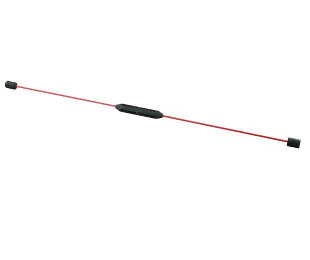 Kmitací tyč Yate červená 158cm