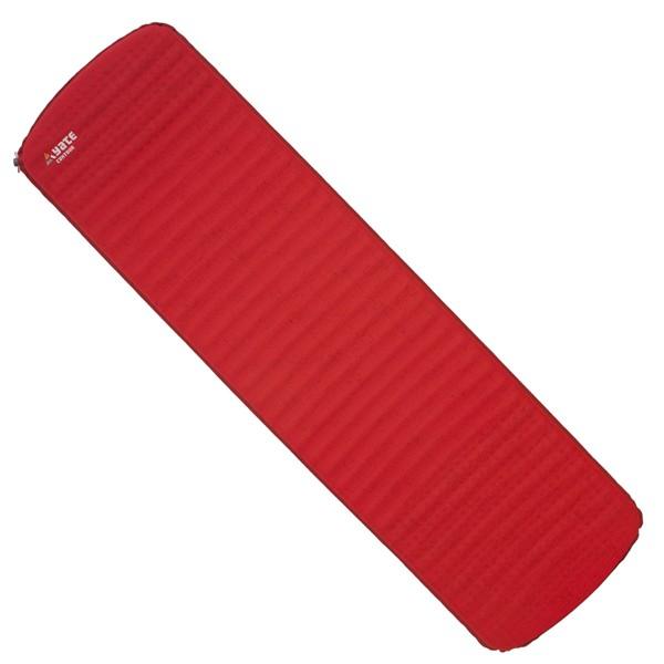 Samonafukovací karimatka Yate Contour červená/šedá 3,8cm
