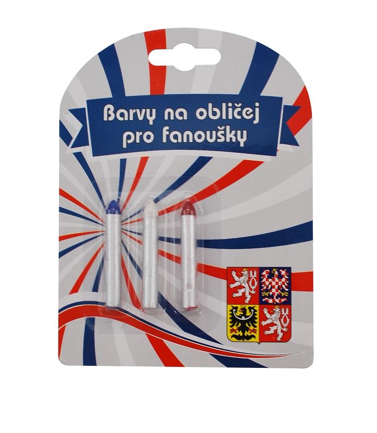 Barvy na obličej ČR 4 - tužky