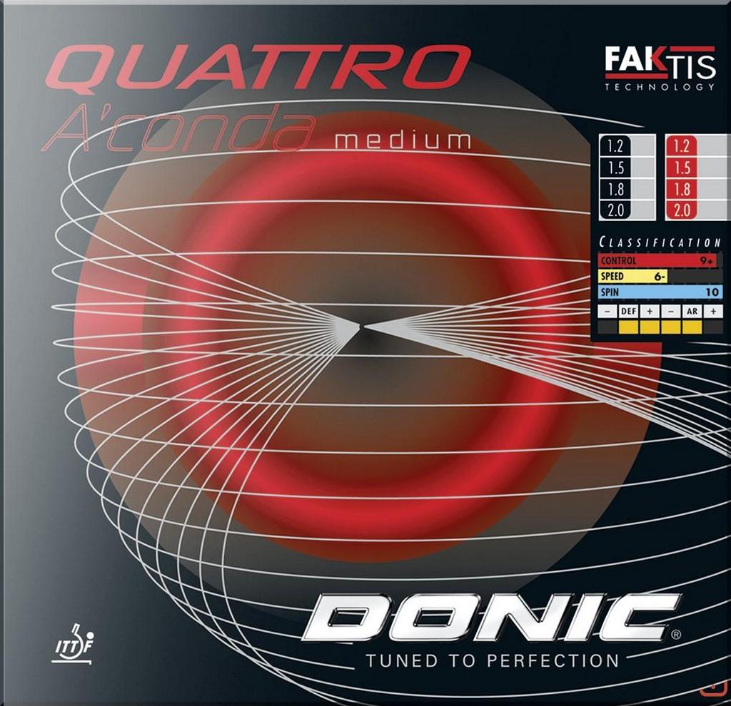 Potah Donic Quattro A´conda Medium