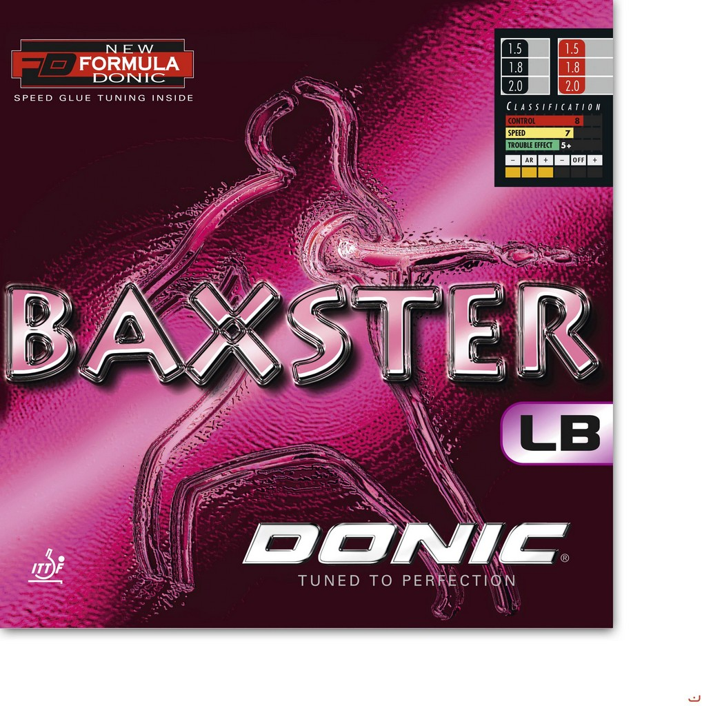 Potah Donic Baxster LB