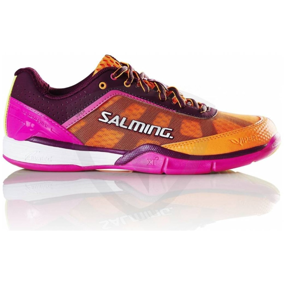 Sálová obuv Salming Viper 4 Women Purple/Orange