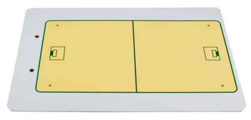 Trenérská tabule florbal A4