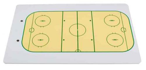 Trenérská tabule hokej A4