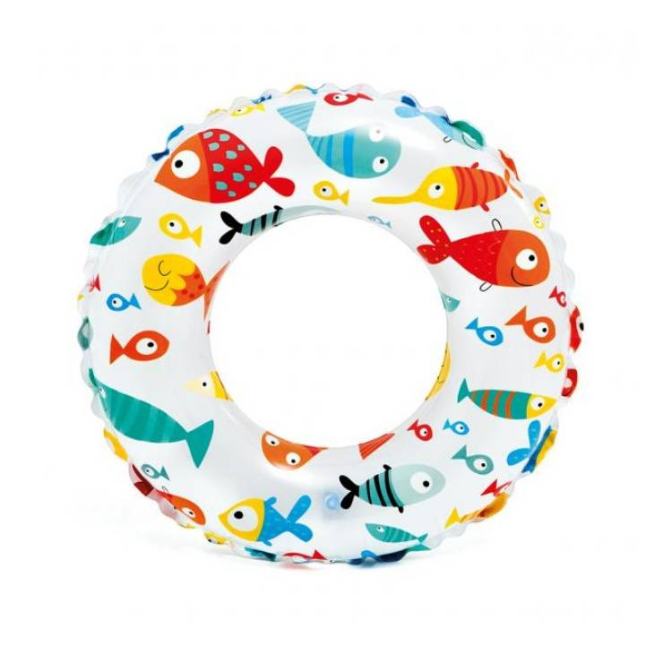 Plavecký kruh Intex Ryby 51cm