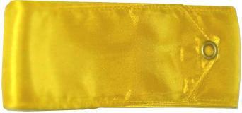 Gymnastická stuha Official Fantasia 6m žlutá