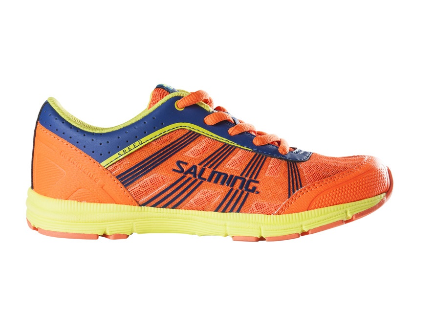 Běžecká obuv Salming Speed Kid Laces Orange