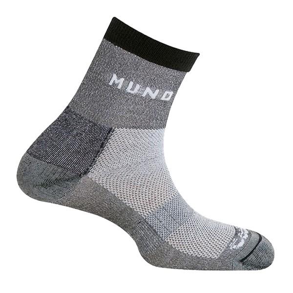 Trekingové ponožky Mund Cross Mountain šedé