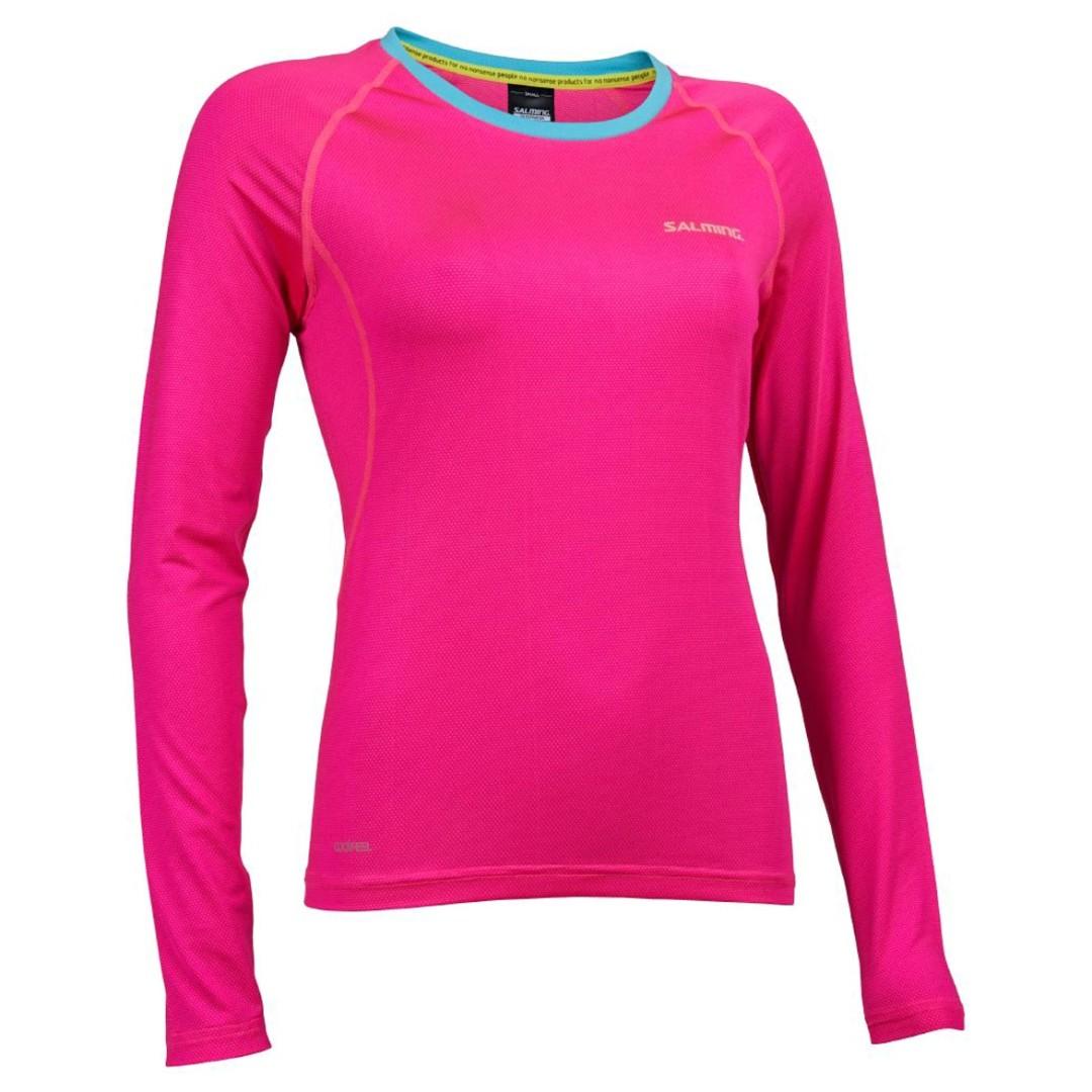 Dámské triko Salming Balance LS Tee Women Pink